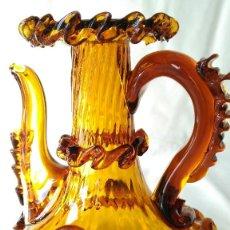 Antigüedades: ACEITERA VINAGRERA CRISTAL MALLORQUIN. Lote 79510369