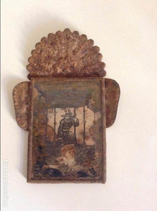 MARCO ANTIGUO IMAGEN RELIGIOSA (Antigüedades - Religiosas - Varios)