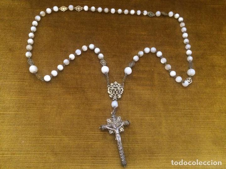 ROSARIO FILIGRANA CORDOBESA (Antigüedades - Religiosas - Rosarios Antiguos)