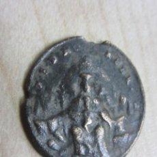 Antigüedades: MEDALLA DEL SIGLO XVII O XVIII DE N.SRA DE MONSERRAT Y SAN BENITO. Lote 79556329