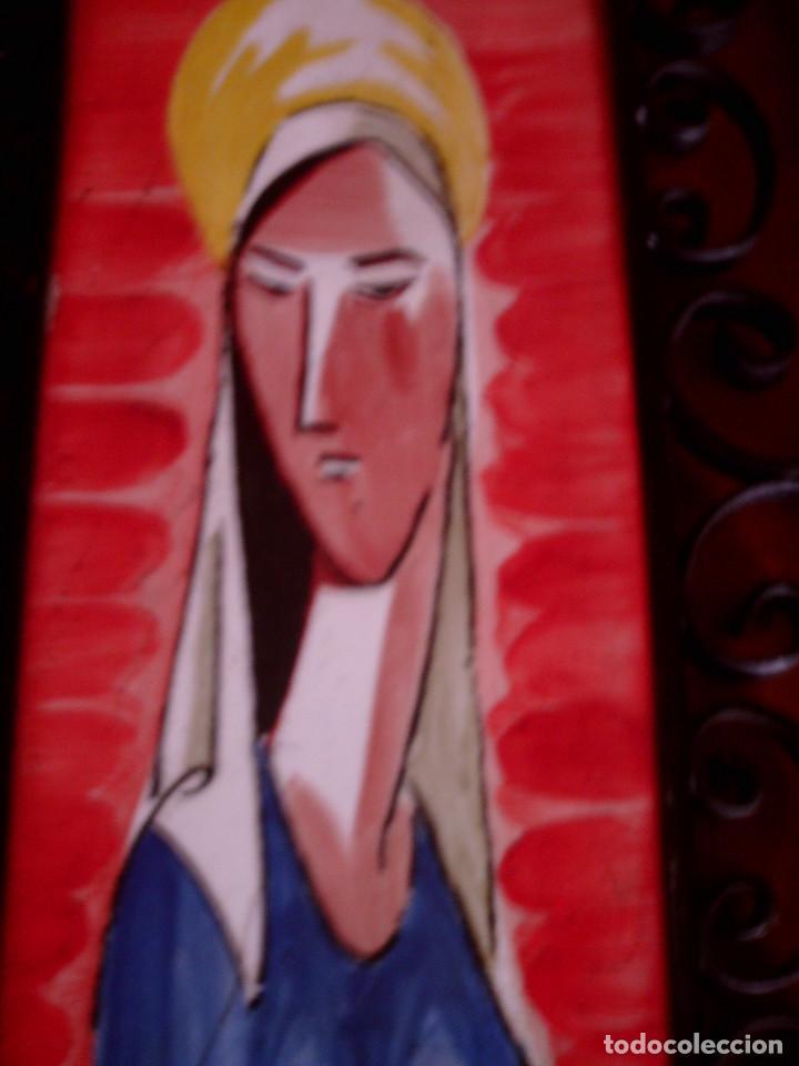 azulejo de ribesalbes pintado a mano,virgen enm - Comprar ...