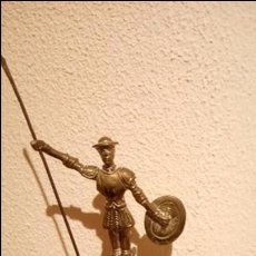 Antigüedades: CENICERO QUIJOTE DE BRONCE. Lote 79592609
