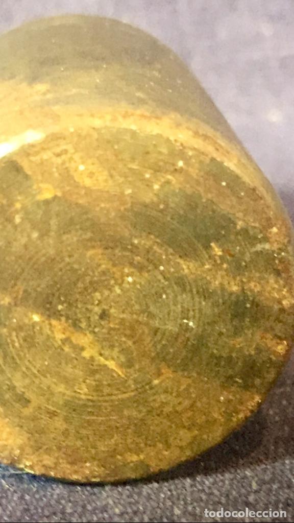 Antigüedades: matriz acero troquel medalla virgen con niño 1 a mitad s XX 39x26cms - Foto 3 - 79609917