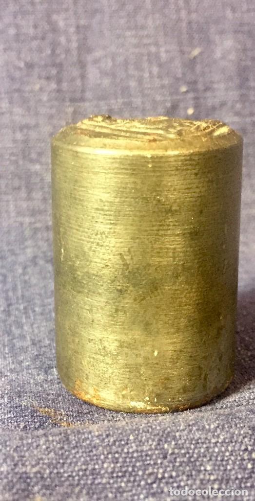 Antigüedades: matriz acero troquel medalla virgen con niño 1 a mitad s XX 39x26cms - Foto 6 - 79609917
