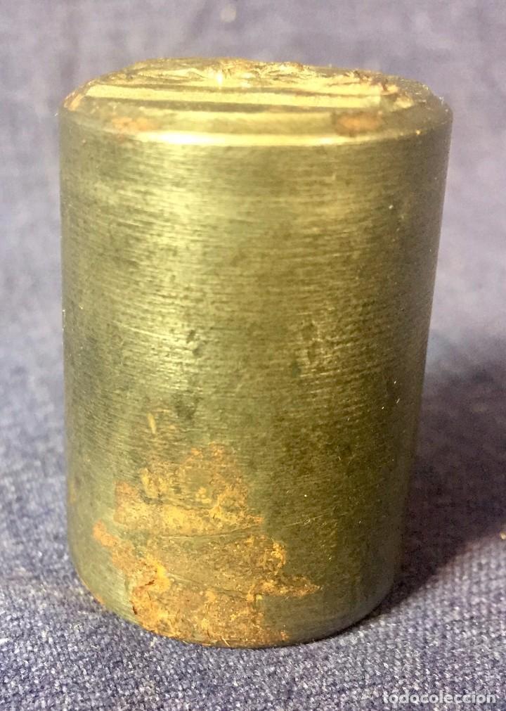 Antigüedades: matriz acero troquel medalla virgen con niño 1 a mitad s XX 39x26cms - Foto 10 - 79609917