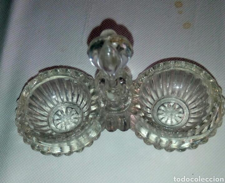 Antigüedades: Especiero cristal cartagena - Foto 2 - 79627398