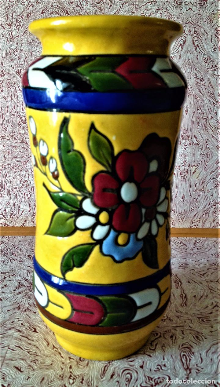 Antigüedades: Albarelo de cerámica de Quismondo de Toledo - Foto 2 - 79629297
