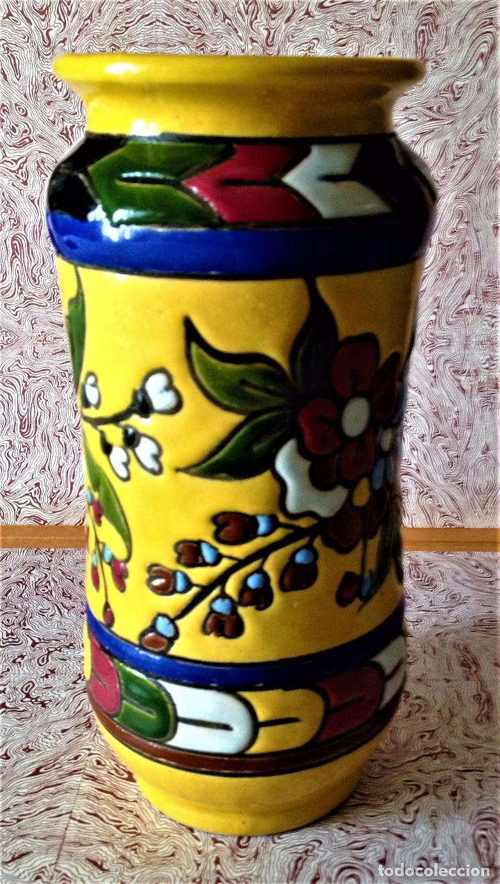 Antigüedades: Albarelo de cerámica de Quismondo de Toledo - Foto 3 - 79629297
