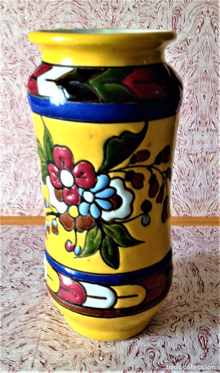 Antigüedades: Albarelo de cerámica de Quismondo de Toledo - Foto 4 - 79629297