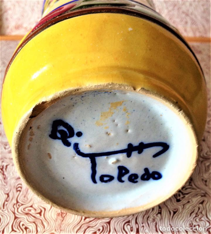 Antigüedades: Albarelo de cerámica de Quismondo de Toledo - Foto 6 - 79629297