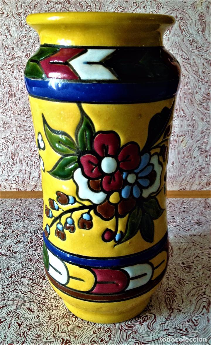 Antigüedades: Albarelo de cerámica de Quismondo de Toledo - Foto 7 - 79629297