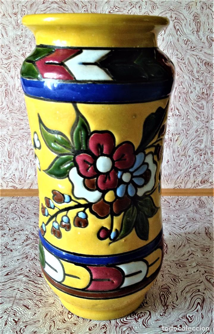 Antigüedades: Albarelo de cerámica de Quismondo de Toledo - Foto 8 - 79629297