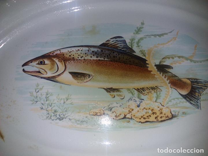 Antigüedades: Gran fuente de Porcelana - Foto 2 - 79644417