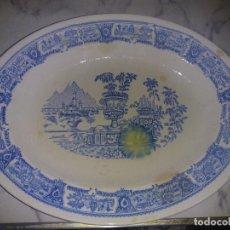 Antigüedades: GRAN FUENTE DE PORCELANA. Lote 79645045
