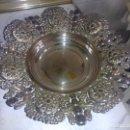 Antigüedades: ORIGINAL BANDEJA DE METAL ( PUEDE SER ALPACA) VER FOTOS. Lote 79652885