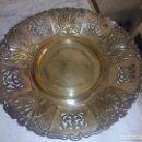 Antigüedades: ORIGINAL BANDEJA DE METAL ( PUEDE SER ALPACA) VER FOTOS. Lote 79654337