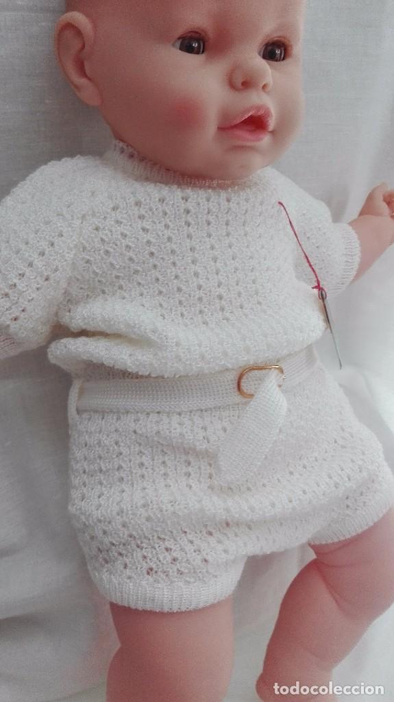 Antigüedades: PELELE INFANTIL FABRICADO EN ESPAñA AñOS 70 .NUEVO - Foto 2 - 79659525