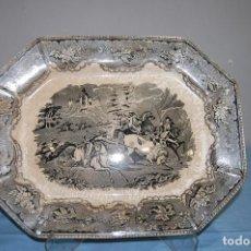 Antigüedades: FUENTE PLATO DE LA FABRICA CARTAGENA S.XIX. Lote 79662501