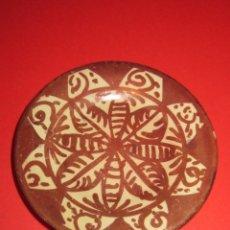 Antiquités: PLATO O PLATITO DE CERAMICA DE REFLEJOS.MIDE 8 CM.. Lote 79742393