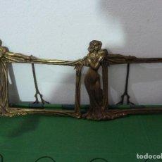 Antigüedades: ANTIGUOS PORTAFOTOS POSIBLEMENTE DE BRONCE. Lote 79746293