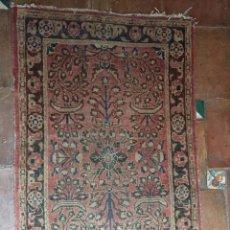 Antigüedades: ANTIGUA ALFOMBRA PERSA DE ORACIÓN. S. XIX O ANTERIOR.. Lote 79752181