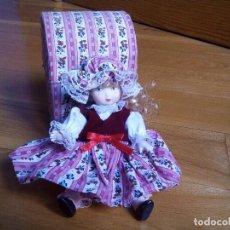 Muñecas Porcelana: MUÑECA DE PORCELANA NUEVA. Lote 79810849