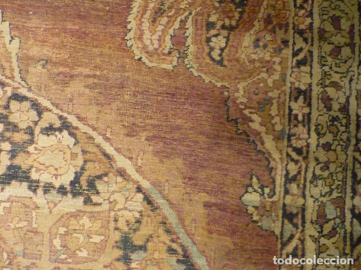 Antigüedades: ANTIGUA ALFOMBRA. PERSIA ORIENTAL. SIGLO XIX. - Foto 6 - 37455449