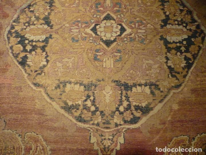 Antigüedades: ANTIGUA ALFOMBRA. PERSIA ORIENTAL. SIGLO XIX. - Foto 7 - 37455449
