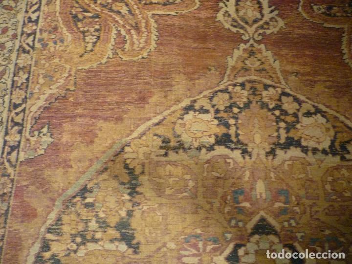 Antigüedades: ANTIGUA ALFOMBRA. PERSIA ORIENTAL. SIGLO XIX. - Foto 8 - 37455449