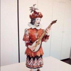 Antigüedades: ALGORA: MUSICO SIGLO XVII. SERIE LIMITADA 500. PIEZA MUY RARA EN PERFECTO ESTADO!!. Lote 75575419