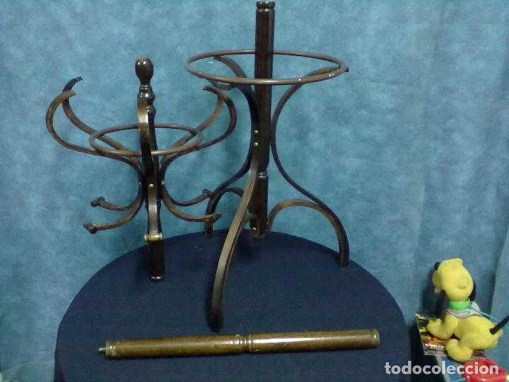 Antigüedades: SIN EPOCA PERCHERO ARBOL TIPO THONET PARA REPARAR - Foto 4 - 79872701