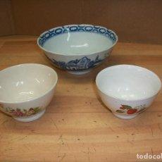 Antigüedades: LOTE DE 3 TAZAS CHINAS. Lote 79881141