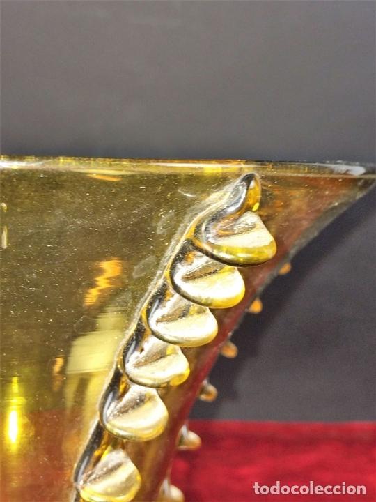 Antigüedades: JARRÓN. CRISTAL SOPLADO. MALLORCA(?). ESPAÑA. PRINCIPIO XX - Foto 6 - 79899629