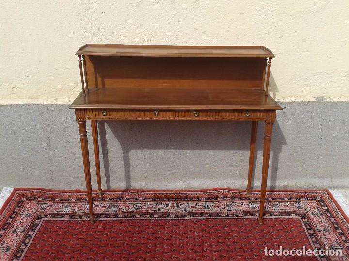 Consola antigua escritorio estilo luis xvi rec vendido en venta directa 79923501 - Mueble entrada vintage ...