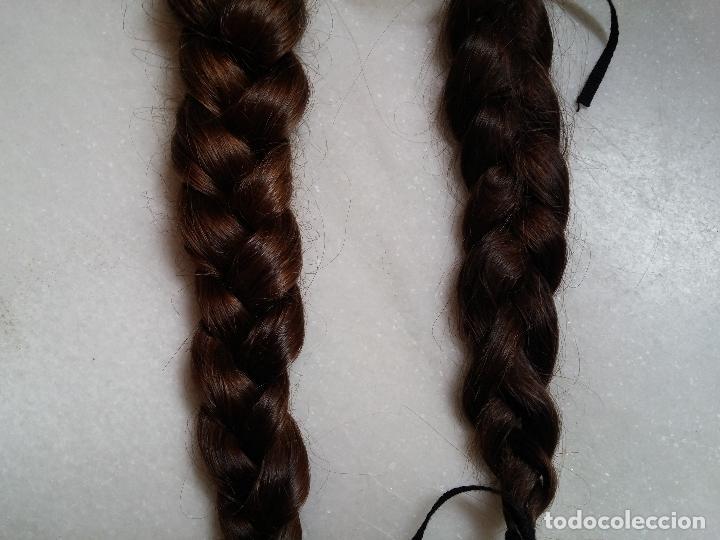 Antigüedades: Dos antiguas trenzas de pelo natural - Foto 6 - 79931925