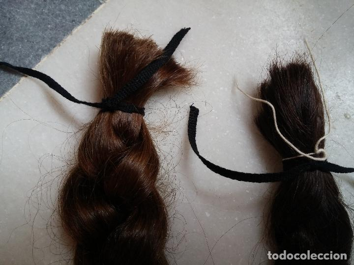 Antigüedades: Dos antiguas trenzas de pelo natural - Foto 8 - 79931925