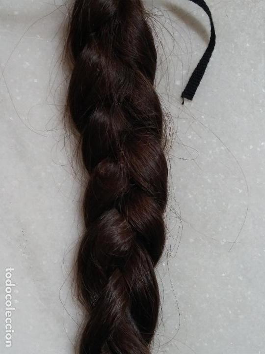 Antigüedades: Dos antiguas trenzas de pelo natural - Foto 10 - 79931925