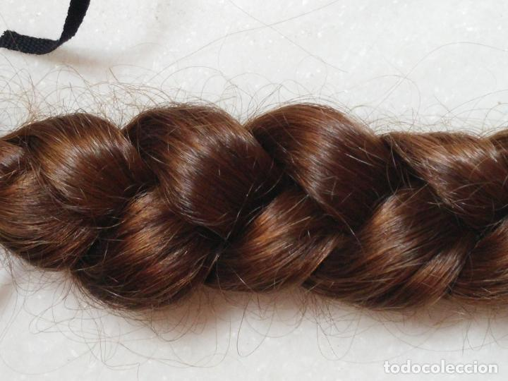Antigüedades: Dos antiguas trenzas de pelo natural - Foto 11 - 79931925