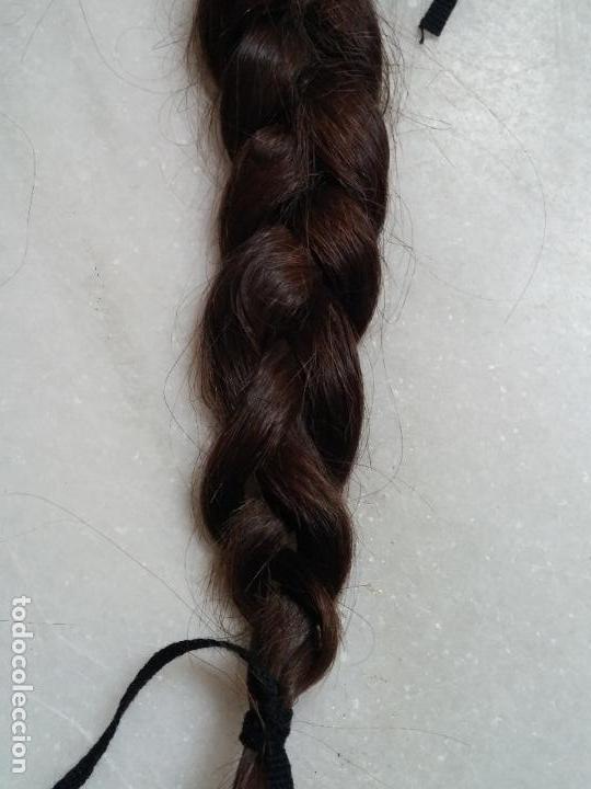 Antigüedades: Dos antiguas trenzas de pelo natural - Foto 13 - 79931925