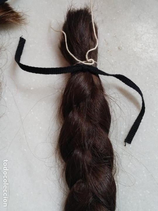Antigüedades: Dos antiguas trenzas de pelo natural - Foto 14 - 79931925