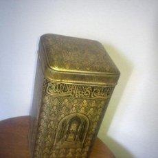 Antigüedades: ANTIGUA CAJA DE CAFE HECHA HOJALATA DOS ANOS 40,50 PARA. Lote 79667353