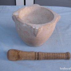 Antigüedades: ANTIGUO MORTERO DE PIEDRA.. Lote 79941229