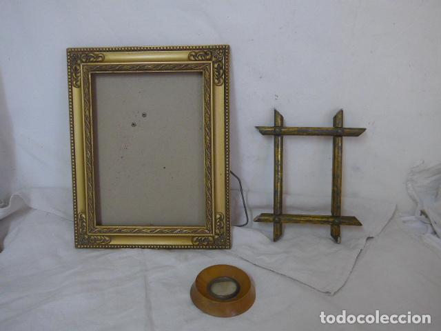 Lote de 3 antiguos marcos para foto o cuadro m comprar marcos antiguos de cuadros en - Marcos clasicos para cuadros ...