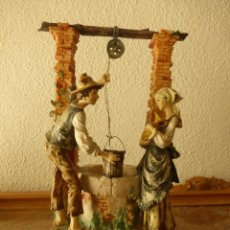 Antigüedades: PORCELANA DE CAPODIMONTE FIRMADA GIUSEPPE ARMANI. Lote 73533367