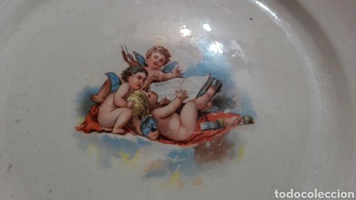 Antigüedades: Plato Asturias gijon 22 cm - Foto 2 - 79961267
