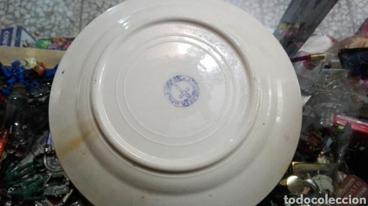Antigüedades: Plato Asturias gijon 22 cm - Foto 3 - 79961267