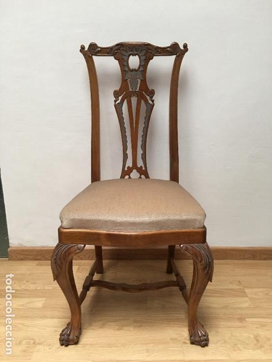 20 genial sillas de comedor antiguas im genes 4 sillas for Sillas comedor antiguas