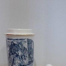 Antigüedades: JARRON ANTIGUO SAGRADA FAMILIA DE LA CARTUJA. Lote 80016445