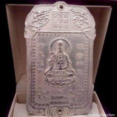 Antigüedades: LINGOTE EN PLATA CON GRABADO DIOSA DE LA FORTUNA - 150 GRAMOS. Lote 129188583