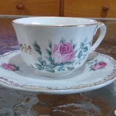Antigüedades: TAZA DE CAFÉ PICKMAN - LA CARTUJA DE SEVILLA.. Lote 80018695
